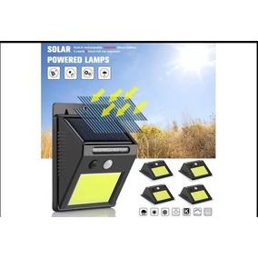 Refletor Solar De 48led Sensor De Presença