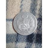 Moneda De Un Sol De Plata De 1925