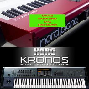 Novo Pacote Samples Nord Pianos V3 2018 (para Korg Kronos)