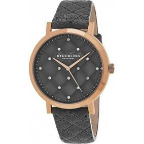 Reloj Mujer 462.01 Corera Cuero Acero Inoxidable Stuhrling