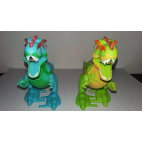 Juguete Dinosaurios Con Sonido Luces Y Camina