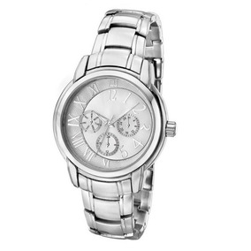 b377bf0bbfe Relógio Feminino Ana Hickmann Prateado Original Nf Ah30111q