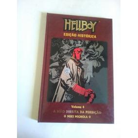 Hellboy 4 Edições Históricas