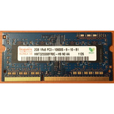 Memoria Ram Ddr3 Sodimm Hynix 2 Gb 1333 Mhz Pc3-10600