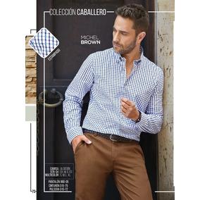 Camisa Slim Fit Cklass P/hombre 976-04 Pv-2019 Elegante