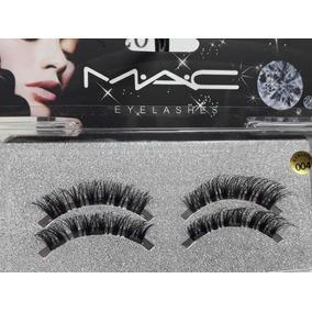 Pestañas Magnetica Mac 3 Imanes Cubren Todo El Ojo