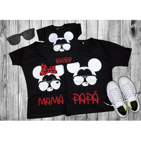 Trio Mickey (mamá, Papá Y Baby)