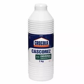 05 Cola Branca Cascola Cascorez Universal Adesivo Pva 1kg