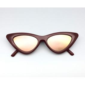 Oculos Sol Gatinho Vermelho Retro Outras Marcas - Óculos no Mercado ... 828cc529db