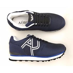 05de395d548 Sapatenis Masculino Emporio Armani - Sapatos para Masculino Azul ...