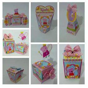 Cartão Kit Lembrancinha Peppa Pig - 60 Itens