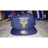 Gorra Snapback Mitchell And Ness Chicago Bulls