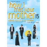 How I Met Your Mother Como Conoci Tu Madre Temporada 5 Dvd