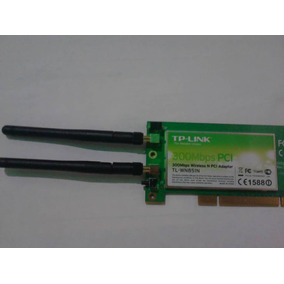 Tarjeta Inalambrica Wifi Tp-link Pci Tl-wn851nd 300mbps