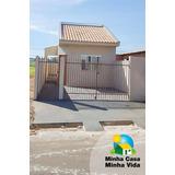 Casa 02 Quartos E 02 Vagas À Venda, Santo Antônio Da Platina. - Ca0053