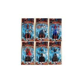 1 Boneco Coleção Vingadores Marvel Colecionador C Expositor