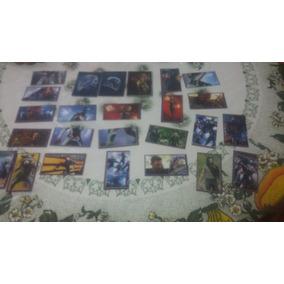 22 Figurinhas Sem Repetição +3 Cards Vingadores End Game Nov