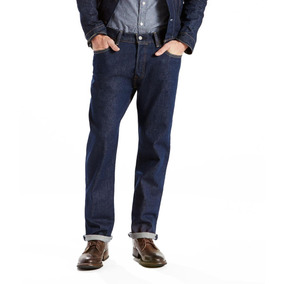 Calça Jeans 501 Original Big & Tall (plus) Azul Escuro