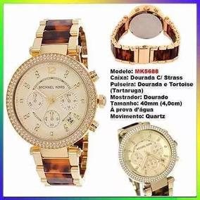 804f363581c14 Relogio Michael Kors Feminino Tartaruga Dourado Mk5805 - Relógios no ...