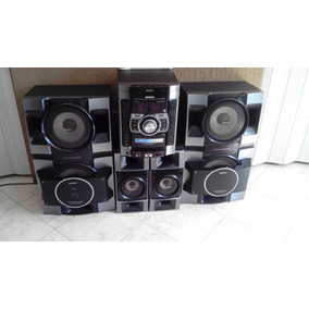 Equipo Sonido Sony Genezis 10000w Gtx-888 Reproductor Malo