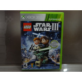Lego Star Wars Iii 3 The Clone Wars Xbox 360