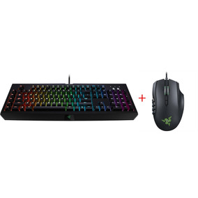 Teclado Razer Blackwindow Chroma + Mouse Gamer Naga Epic