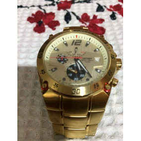 Relógio Orient Cronógrafo Sport Gold Mgssc003 P2kx
