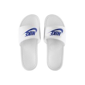 853762f4a0230 Chinelo Nike Benassi - Chinelos Branco no Mercado Livre Brasil