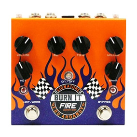 Pedal Para Guitarra Fire Dual Drive Burn It Edu Ardanuy