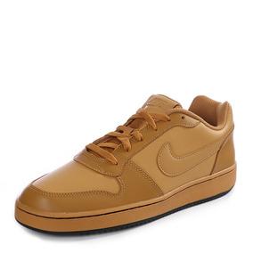 Tenis Nike Ebernon Low Camel Caballero 100% Original D