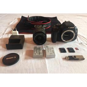 Kit Câmera Profissional Canon 600d T3i Frete Grátis