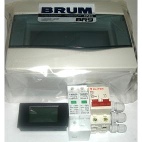 Kit String Box Ca P/ Microinversor Bivolt 20a + Multimetro