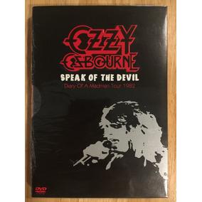 Dvd Ozzy Osbourne Speak Of The Devil 1ª Edição Remaster 2010