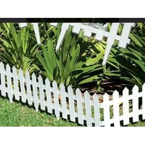 30 Cercas Para Jardim Plastica ( 40,5cmx 19,5cm Cada)