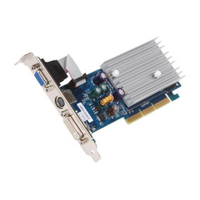 Placa De Video Ecs Nvidia Geforce N6200 512dz Agp Dvi Vga 64
