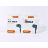 10 Fone De Ouvido Intra-auricular Pmcell F0-11