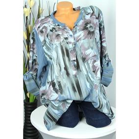 f87a456a34c8c Vendimia Mujeres Suelto Camisa Impreso Blusa V Con Cuello La. 5 colores