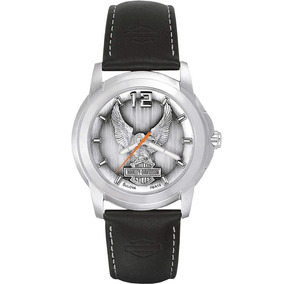 Reloj Harley Davidson By Bulova Para Hombre Original 76a12