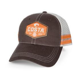 d4e053112e98a Ha 35br Gorra Malla Reel Trucker Café naranja Costa Del Mar