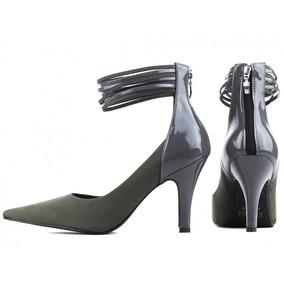 5814707353 Scarpins para Feminino Cinza escuro em Minas Gerais no Mercado Livre ...