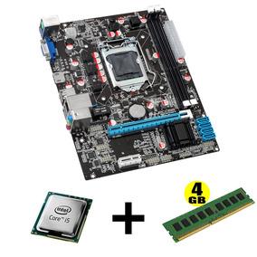 Kit Placa Mãe E Processador I5-650/1156 4gb Memoria