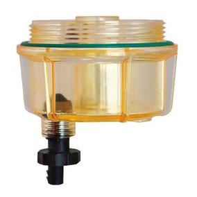 Rk 30475 Vaso Plastico Racor Marino Transparente C/drenaje