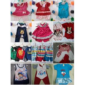 Kit 20 Roupas D Bebê, Masculino E Feminino, Modelos Sortidos