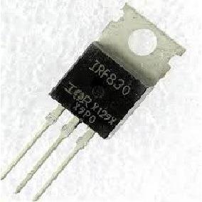 Transistores Mosfet Irf 830 - Lote C/ 20 Peças - Novo