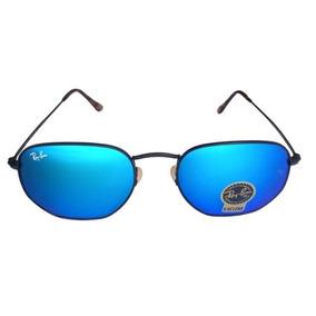 8063525905b94 Rayban Hexagonal Azul - Óculos no Mercado Livre Brasil