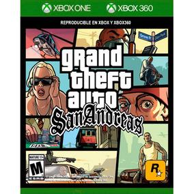 Gta San Andreas Xbox 360 / Xone Mídia Física Lacrado