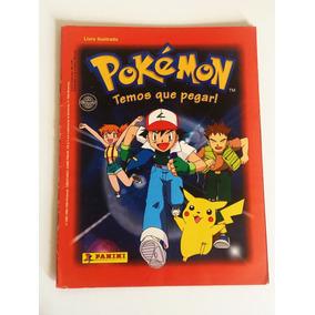 Álbum De Figurinhas Pokemón Temos Que Pegar Panini Completo