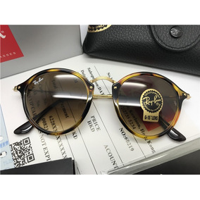 Oculos De Sol Ray Ban Round Fleck Rb2447 Marrom Tartaruga 35017d015c