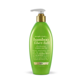 Fiber Cream Ogx Bamboo Fiber Full 177ml