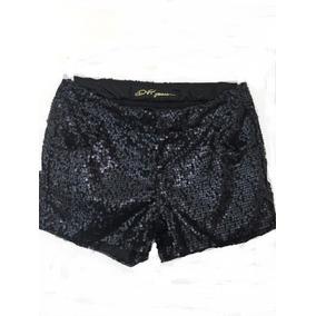 Dviller - Shorts De Paetês. Tamanho 18.